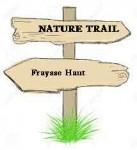 Trail-signpost